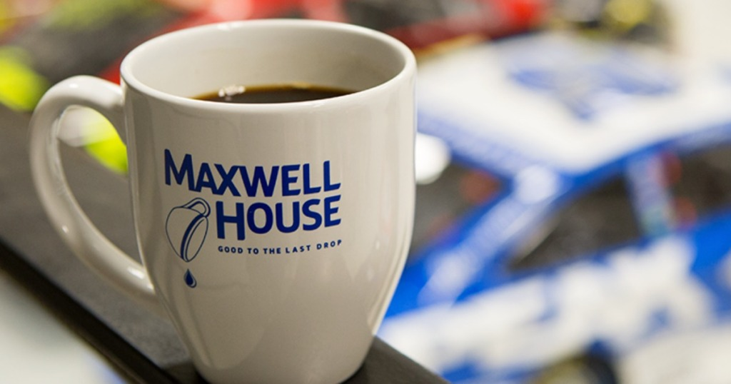 cup of maxwell house coffee