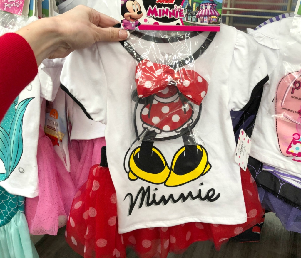 Mini Mouse Toddler Girls 3pc Outfit Set