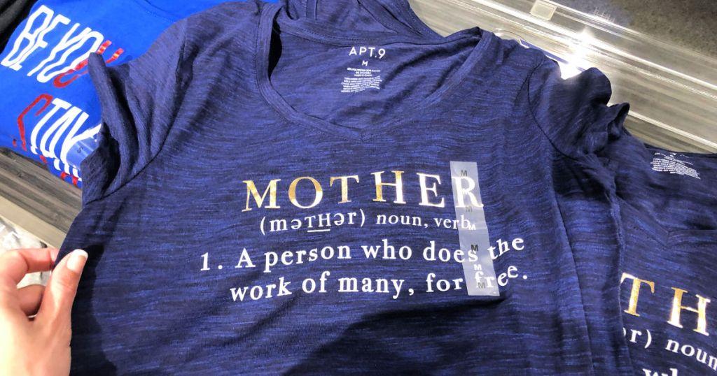 f56f1d806a8 Kohl's: Mom's Themed V-Neck Shirts as Low as $8.74 Shipped (Regularly $22)  | Hip2Save | Bloglovin'