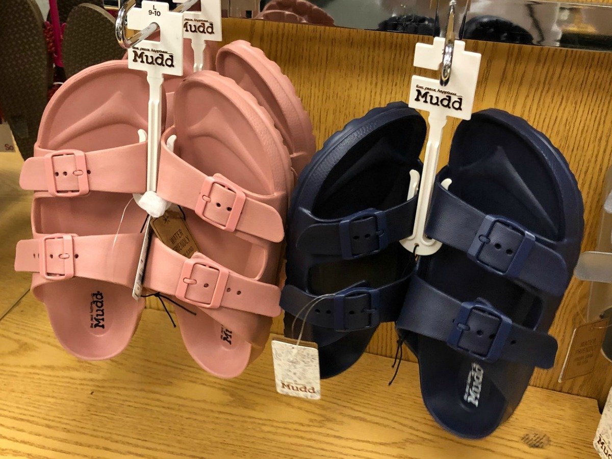 Women's Mudd Sandals as Low as $5.66