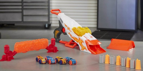 NERF Doubleclutch Inferno Nitro Car Blaster Only $11.97 on Amazon