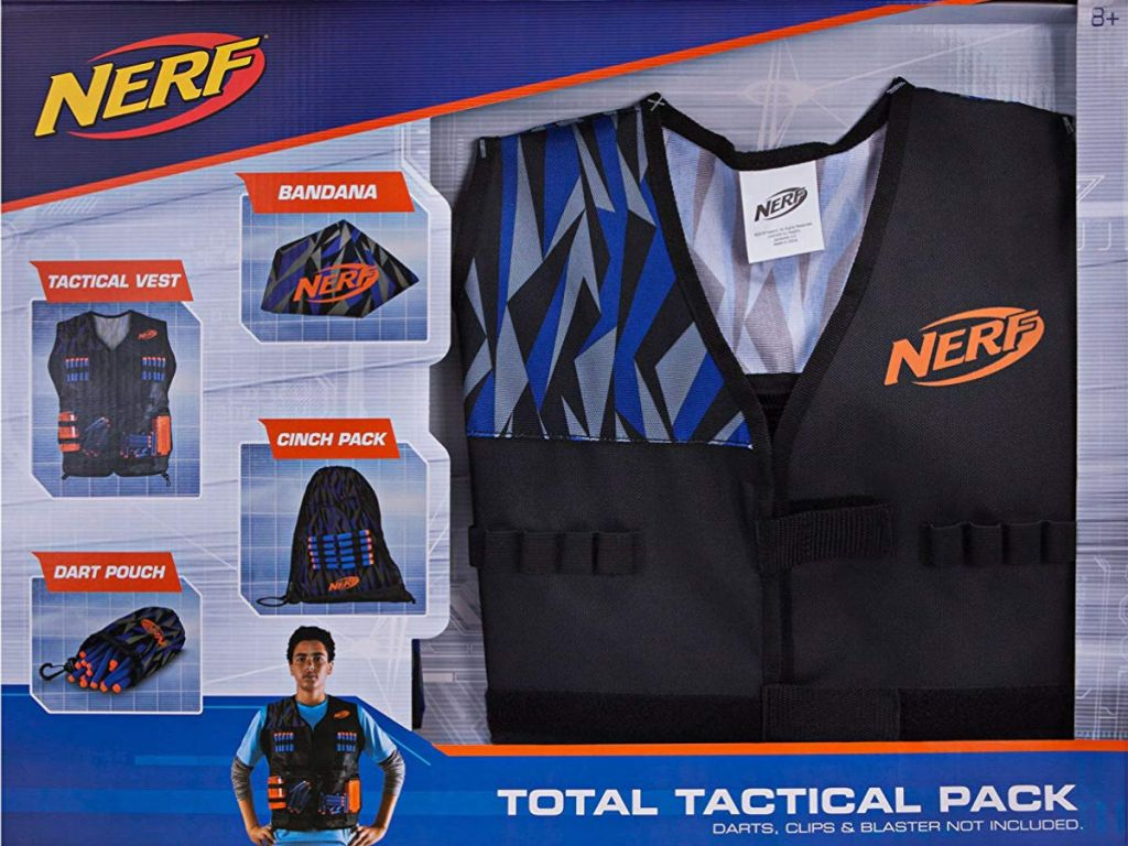 Amazon: NERF Elite Total Tactical Pack Only $12.73