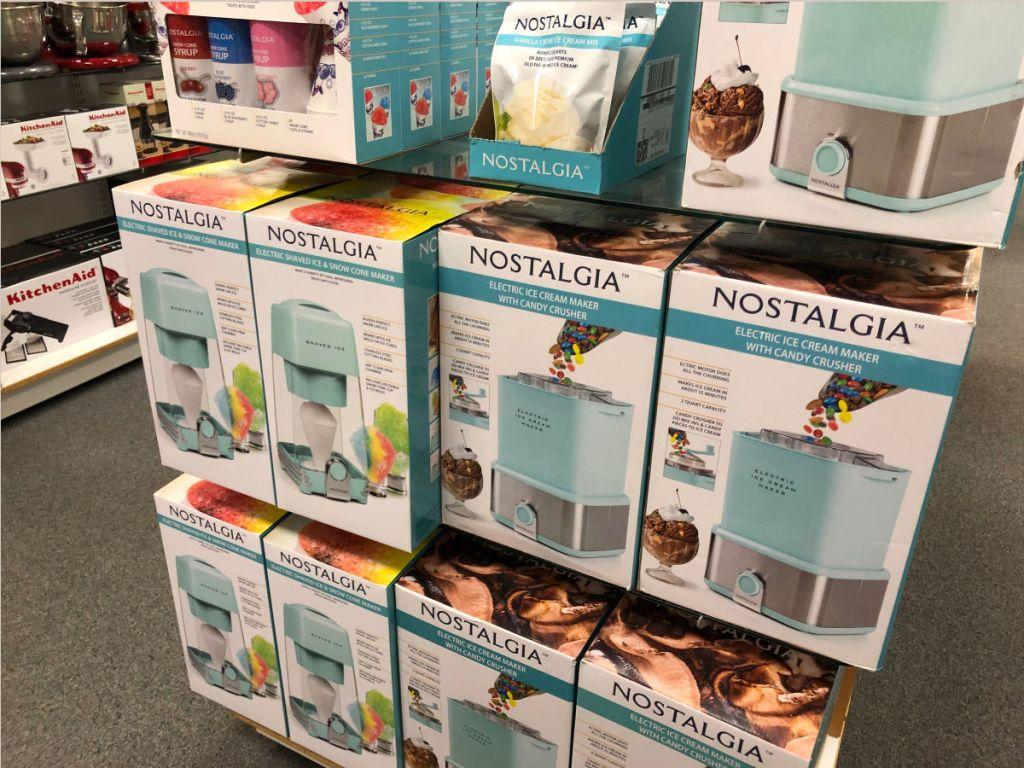 Nostalgia Electrics Appliances As Low As 17 At Kohl S: Nostalgia Cotton Candy, Snow Cone Maker & More As Low As