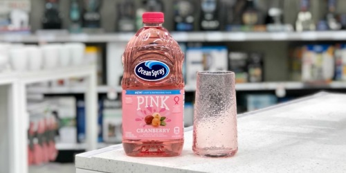 Over 55% Off Ocean Spray Pink Juice at Target (Just Use Your Phone)