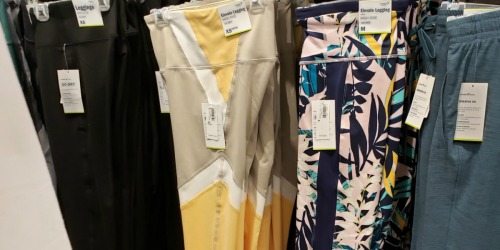 Old Navy Women's & Girl's Compression Leggings Only $10-$12 (Regularly up to $35)