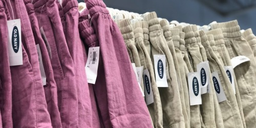 Old Navy Women's Linen Shorts Only $10 (Regularly $25+)