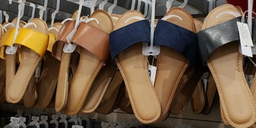 Old Navy Women's Slides & Sandals Only $8 – $10