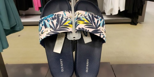 Old Navy Pool Slides for the Family as Low as $5 (Regularly $15+)