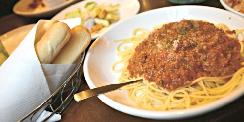 Feed a Family of 4 at Olive Garden for Under $22