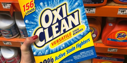 OxiClean Stain Remover Powder 7.22lb Box Only $9.84 Shipped on Amazon | Just 6¢ Per Load