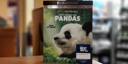 Pandas IMAX Film 4K Ultra HD Combo Just $19.99 at Best Buy (Regularly $30)