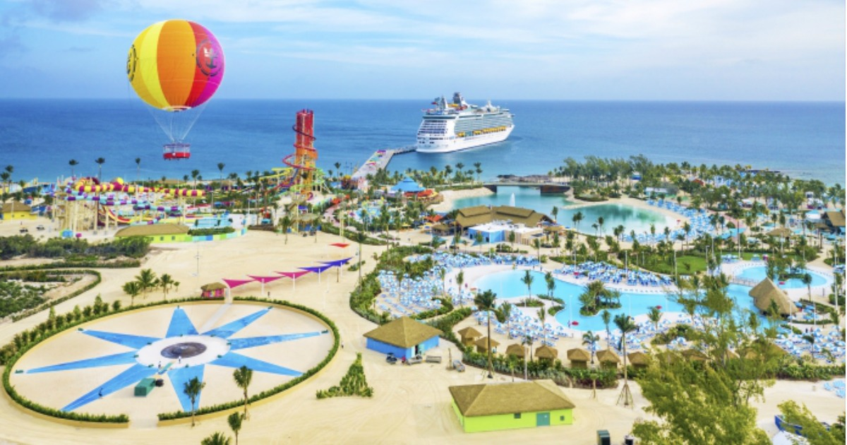 Royal Caribbean Perfect Day at CocoCay art depiction