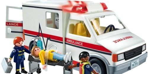 Playmobil Rescue Ambulance Just $15.92 Shipped (Regularly $27)