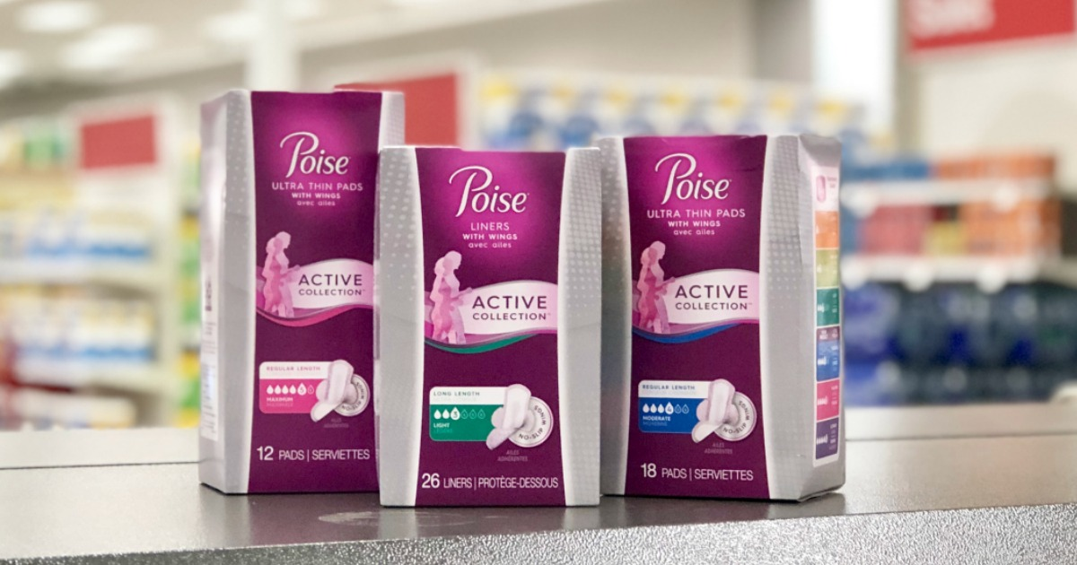 graphic about Printable Coupon for Poise Pads titled Fresh new Poise Busy Coupon \u003d Liners or Pads Simply 99¢ The moment CVS