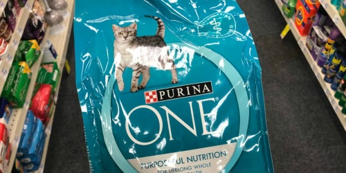 Purina ONE Dry Cat Food 7-Pound Bag Only $7 Shipped at Amazon
