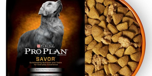 Amazon: Purina Pro Plan Dry Dog Food 35-Pound Bag Only $25 Shipped + More