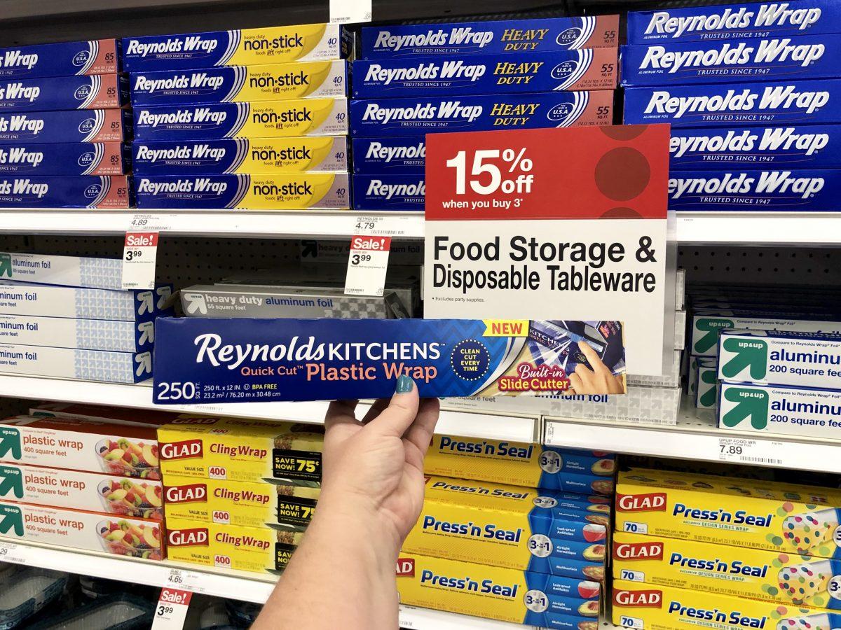 Target: Reynolds Plastic Wrap As Low As $1 Each (Regularly