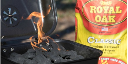 Royal Oak Charcoal Briquettes 15.4-Pound Bag Only $4 at Lowe's