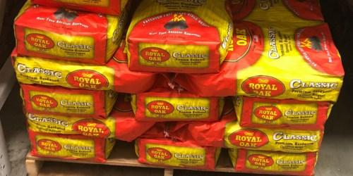 Royal Oak 15.4-Pound Charcoal Briquettes Only $4 at Lowe's