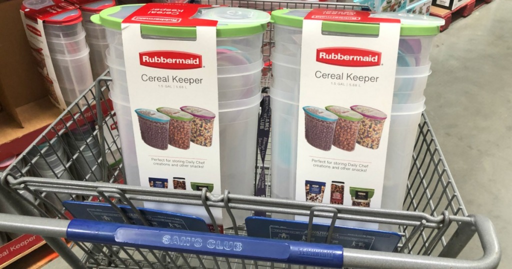 Rubbermaid Cereal Keepers
