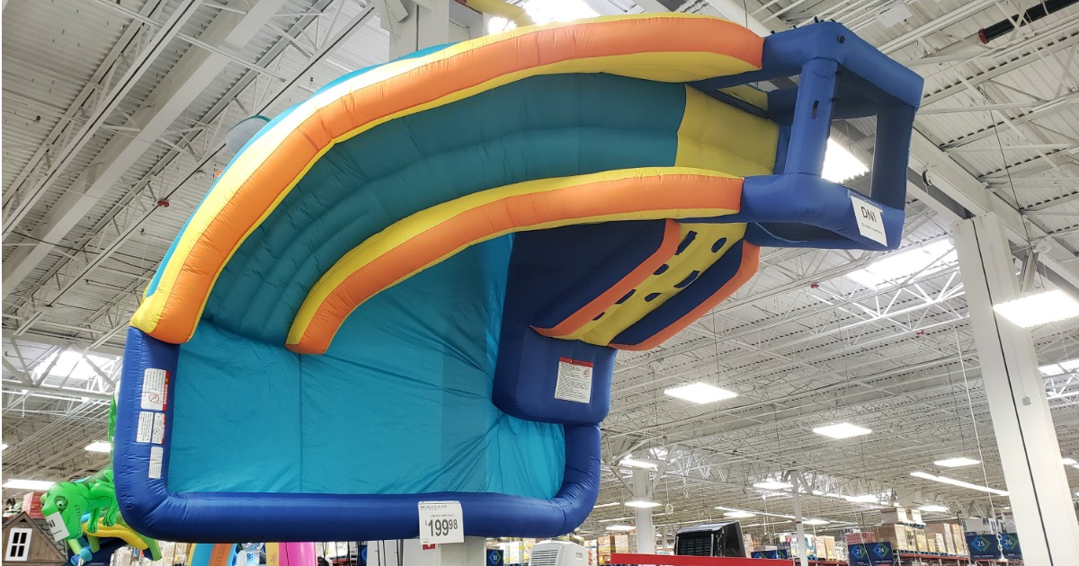 My 1st Splash N Slide Inflatable Water Slide Only 149 98
