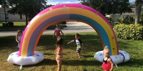 Get Ready for Summer! HUGE Inflatable Sprinklers, Water Islands & Towables at Sam's Club