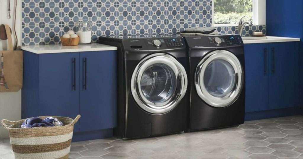 Up to 60% Off Samsung Dryers with Steam Technology