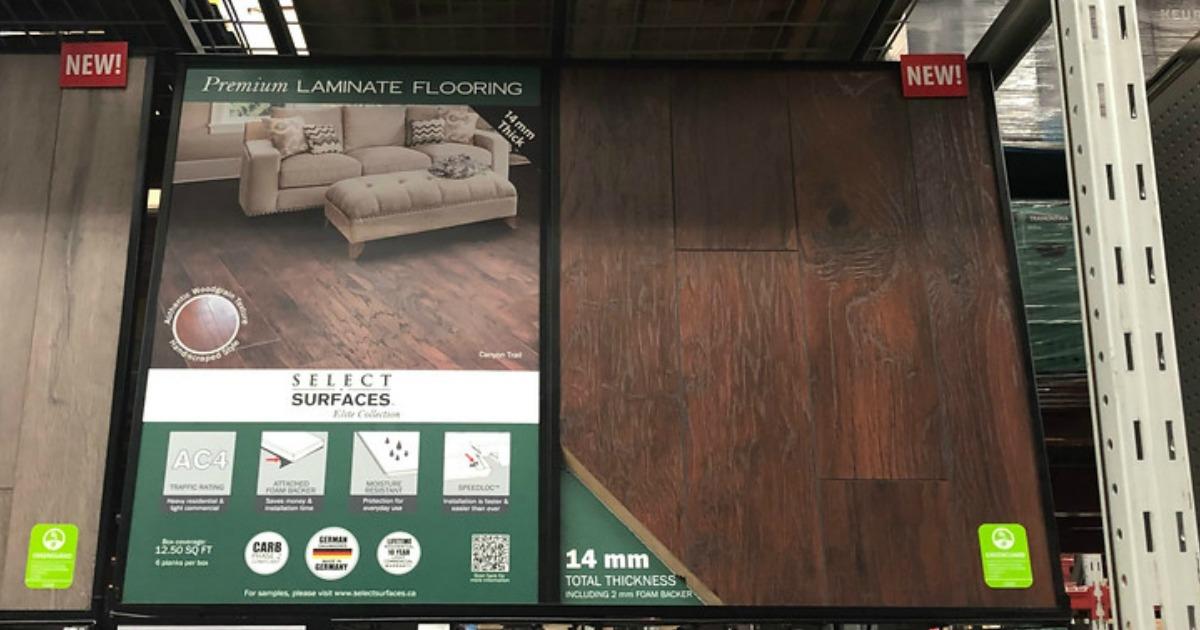 Select Boxes Surfaces Canyon, Select Surfaces Premium Laminate Flooring