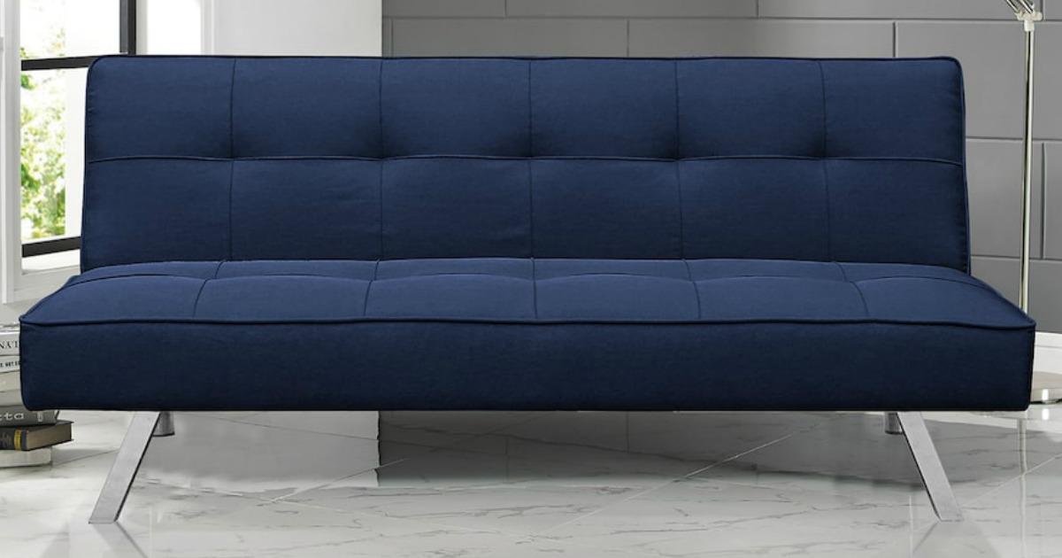 Serta Futon Sofa Bed $122 Shipped + $20 Kohl's Cash
