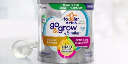 Amazon: Similac Go & Grow Toddler Drink 3-Pack Only $34.87 Shipped ($11.62 Per Container)
