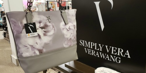 Up to 70% Off Simply Vera Wang Bags + Free Shipping for Kohl's Cardholders