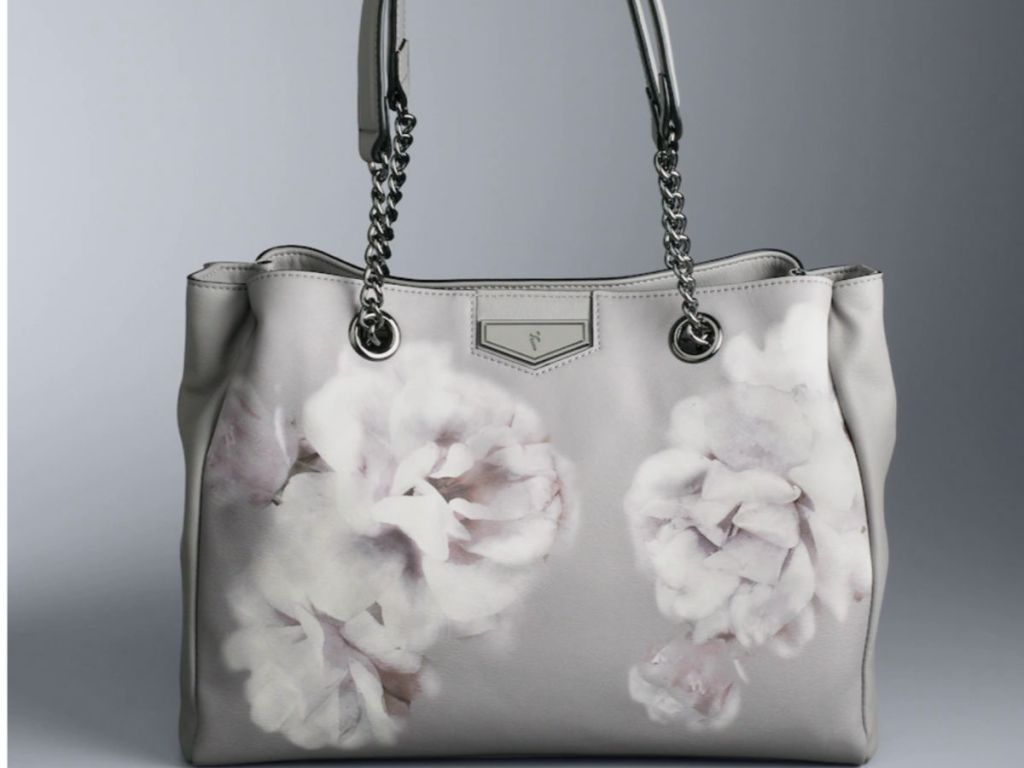 6b5540f86ee52f Simply Vera Vera Wang Satchel $55.30 (regularly $79) Use the promo code  MOMSDAY10 ($10 off $50) Use the promo code SUNNYDAYS (20% off) Final cost  $36.30!