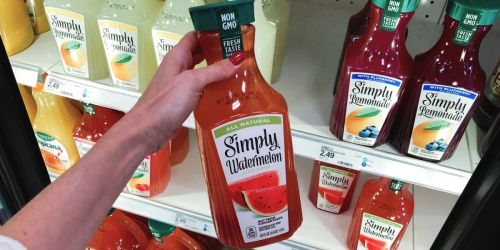 New $0.75/1 Simply Watermelon Juice Printable Coupon (Refreshing Summer Beverage)