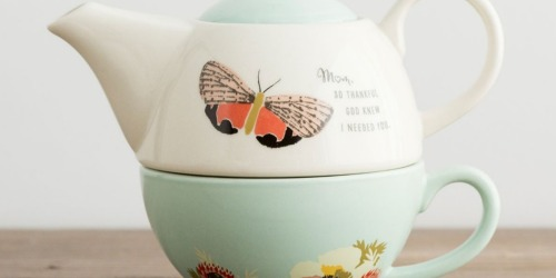 DaySpring So Thankful Teapot & Cup Set Only $14.99 + More