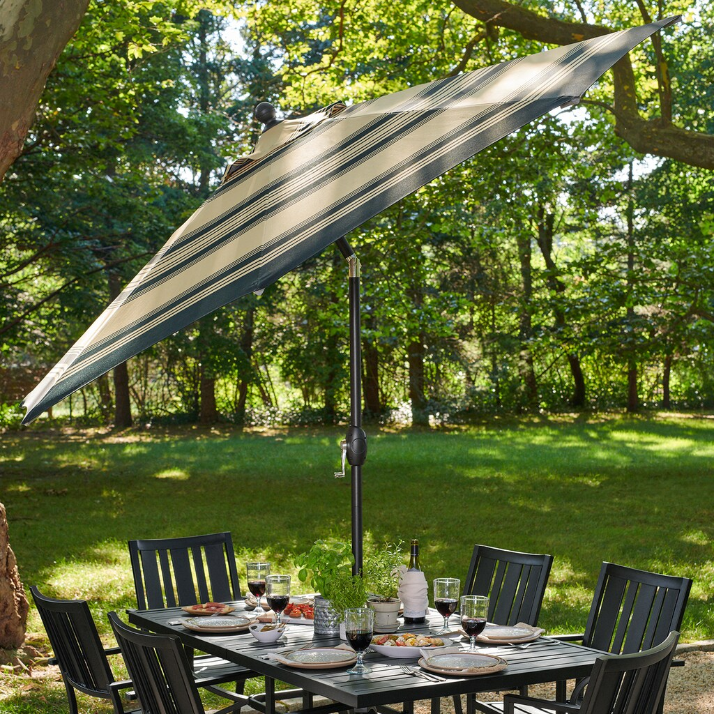 Sonoma umbrella over a patio table