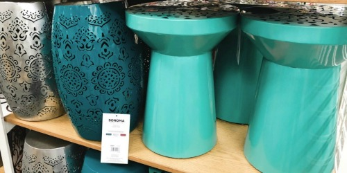 Up to 75% Off SONOMA Goods for Life Indoor/Outdoor Stools at Kohl's