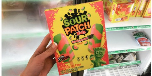 Sour Patch Kids Frozen Ice Pops Only 50¢ at Dollar Tree