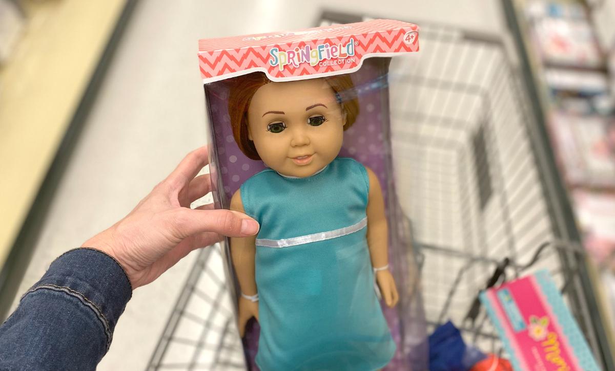 Springfield dolls at Hobby Lobby