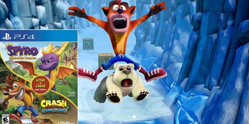 Spyro & Crash Bandicoot Trilogy Bundle PlayStation 4 Game Just $34.99 Shipped (Regularly $60)