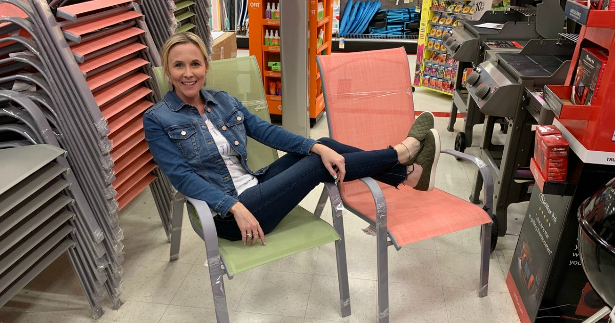 Threshold Stacking Patio Chairs Only $12.82 w/ In-Store Pickup at Target & More