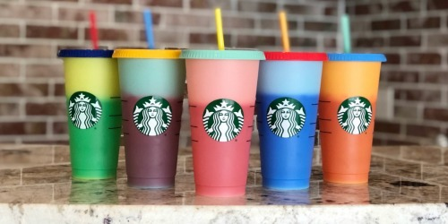 Starbucks Color-Changing Reusable Cold Cups Available Now (High Chance of Selling Out)