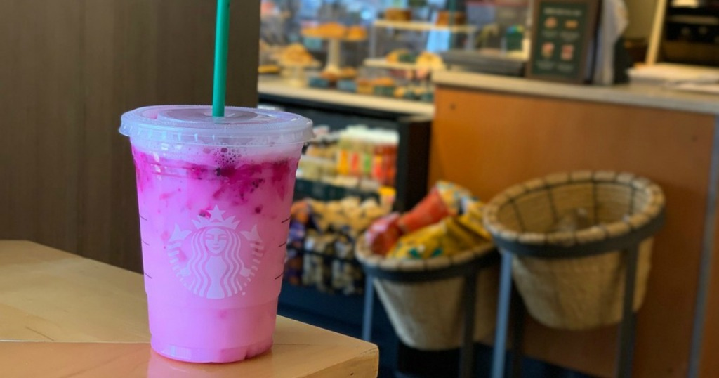 New Starbucks Dragon Refresher Drink Contains Caffeine