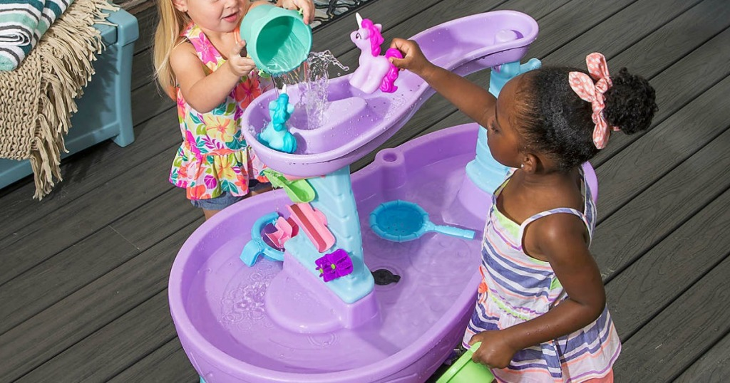 Step2 Rain Showers & Unicorns Water Table ONLY $52.99