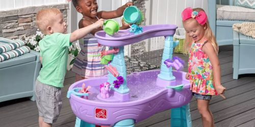 Step2 Rain Showers & Unicorns Water Table ONLY $52.99 Shipped After Gift Card – Readers Love This