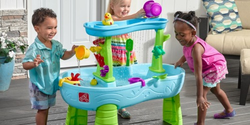Step2 Splash Pond Kids Water Table Only $49.99 Shipped (Includes 13 Accessories)