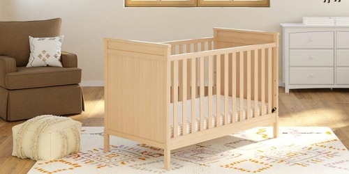 Storkcraft 3-in-1 Convertible Crib Just $104.99 Shipped at Amazon (Regularly $180)