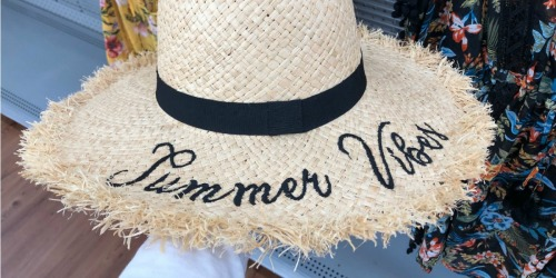Time and Tru Summer Hats Only $9.97 at Walmart (In-Store & Online) + More