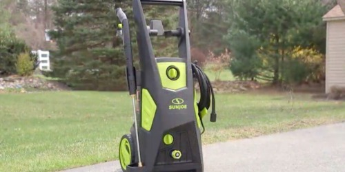Sun Joe Electric Pressure Washer Only $122.99 Shipped on Amazon (Regularly $245)