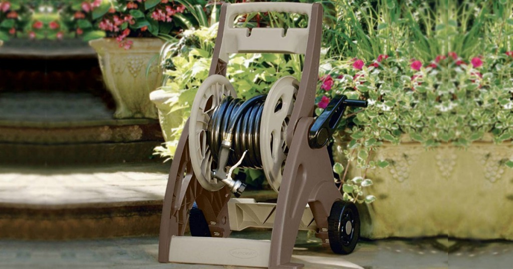 Suncast Hose Reel Mobile Cart Only 19 88 At Home Depot Regularly 32 Hip2save