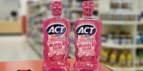 ACT Kids Mouthwash Only 6¢ Each After Cash Back at Target
